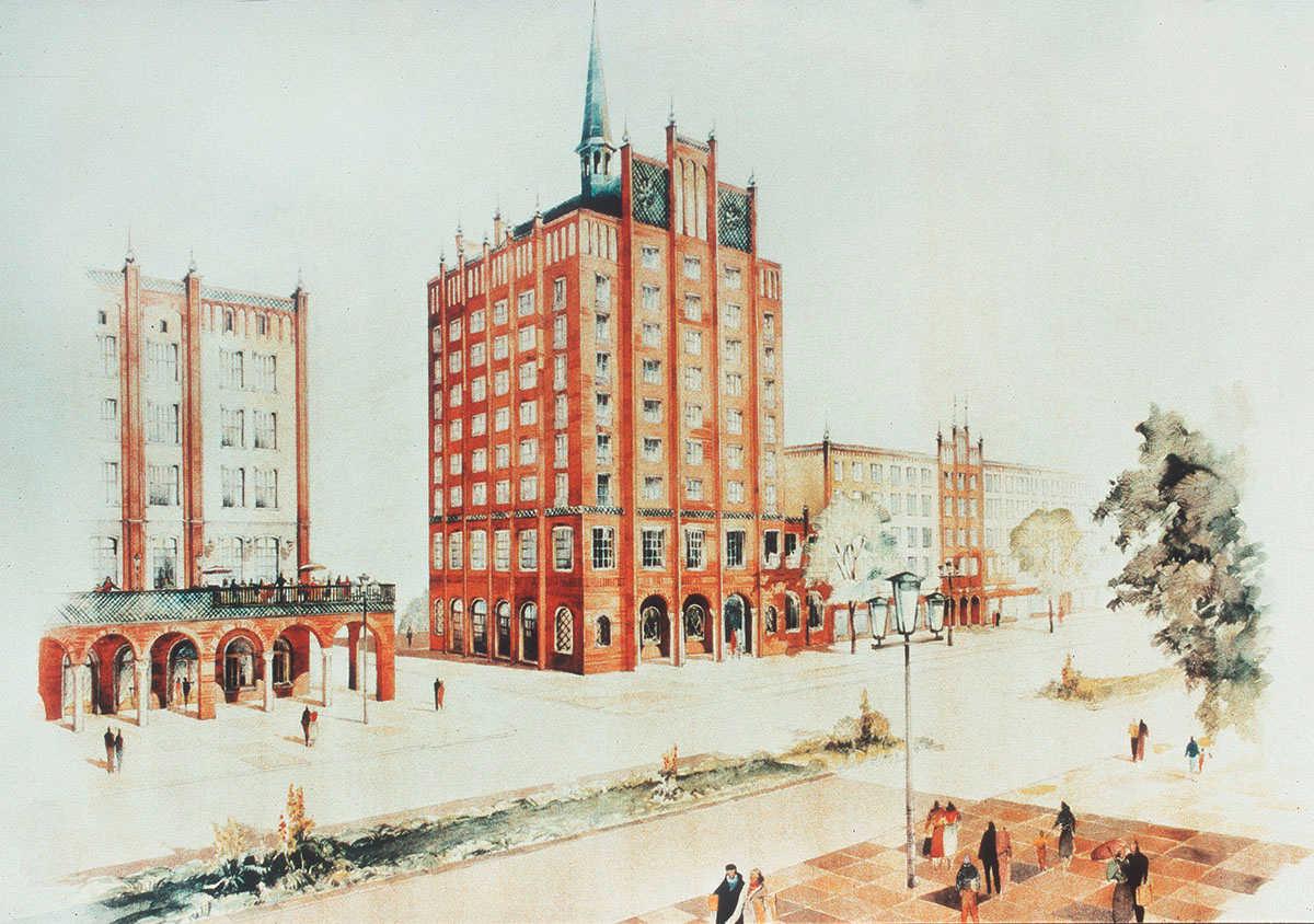 Architekten Rostock ein bild heimat und nation die lange straße in rostock 1953 1958