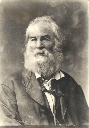 Walt Whitman (1819-1892) um 1870; Foto: Walt Whitman Archive USA