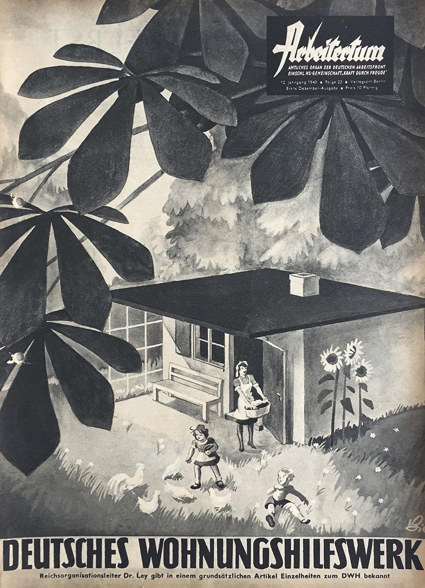 Abb. 1. Broschüre des DHW, 1943, Titelblatt.