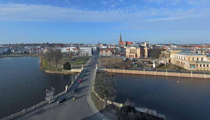 Ein Kleinod Der Stadtbaukunst Der Alte Garten In Schwerin